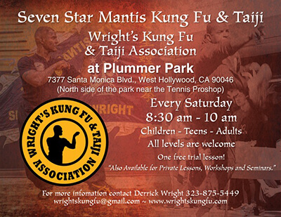 Plummer Park Training Flyer